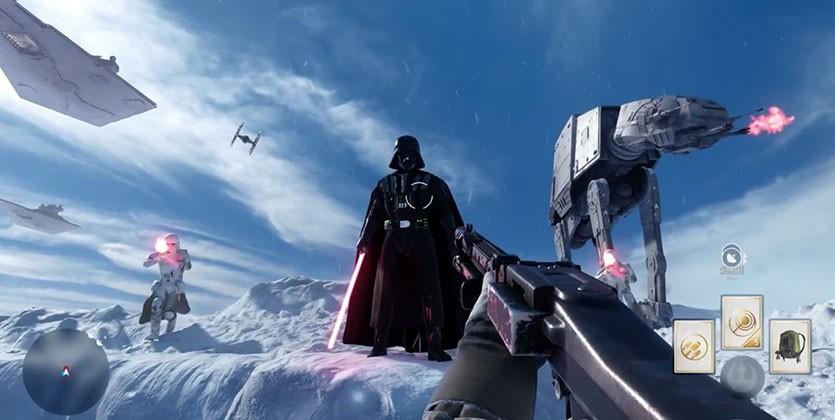 Ferrou! Fonte: Star Wars: Battlefront
